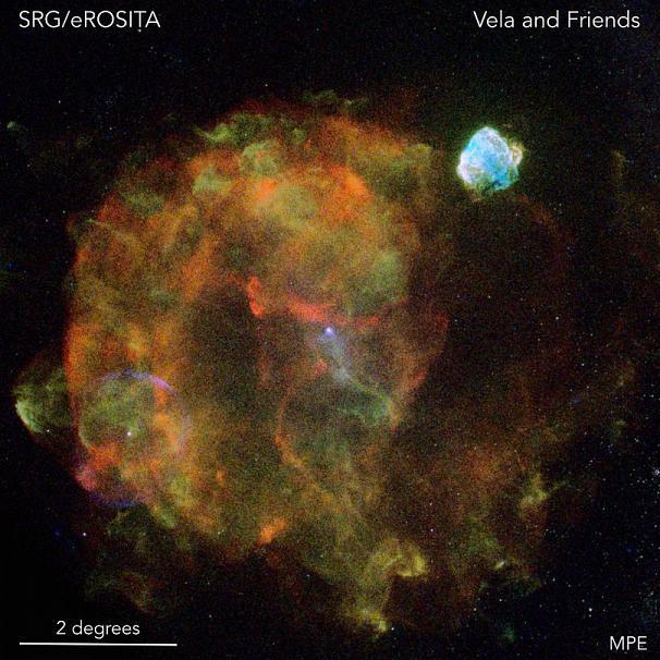 بقایای به جا مانده از انفجار یک ستاره ابرنواختر