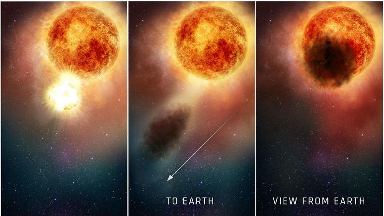 ستاره هفتصد برابر خورشید