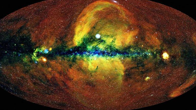تصویری جدید از جهان توسط تلسکوپ اشعه ایکس