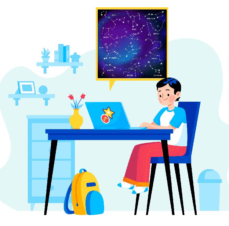 کلاس نجوم برای نوجوانان