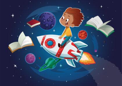 بهترین کتاب های نجوم کودک