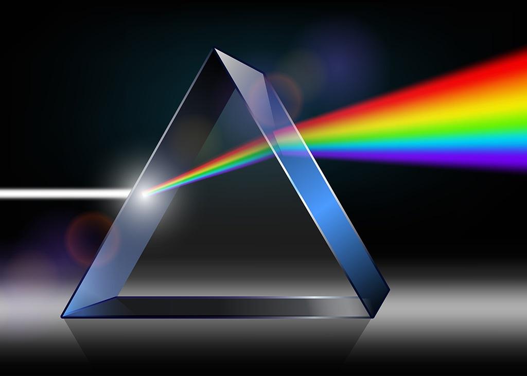 منشور وسیلهای است که نور را تجزیه میکند.