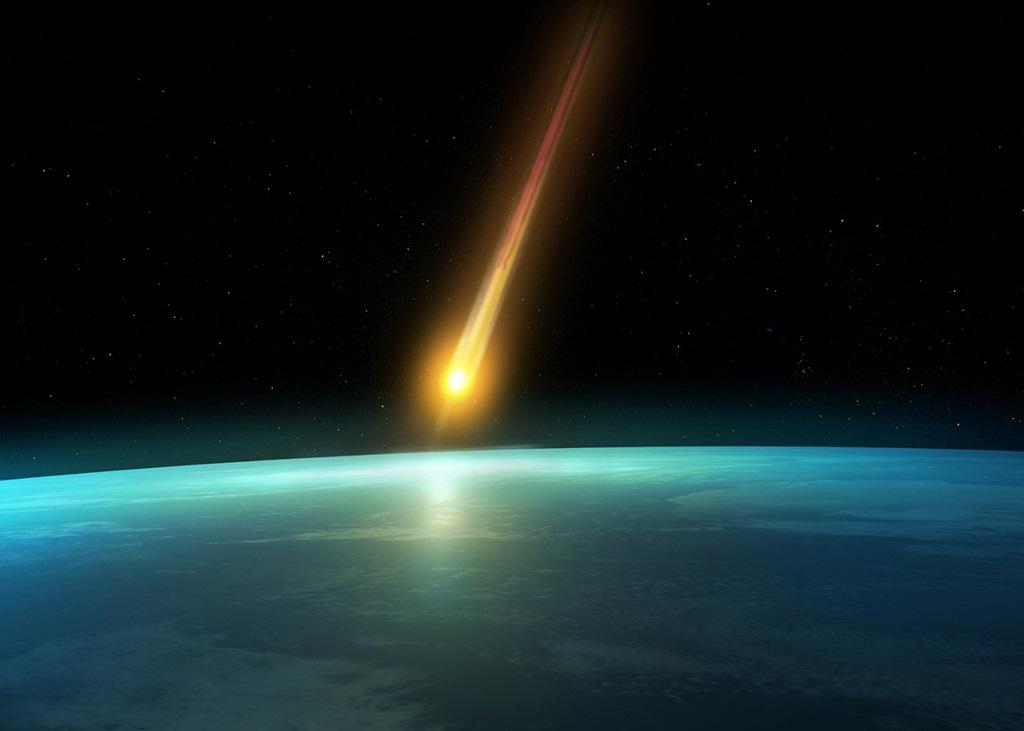 شهاب سنگ بقایای شهابواره است که از جو زمین گذشته و در سطح زمین فرود میآید.