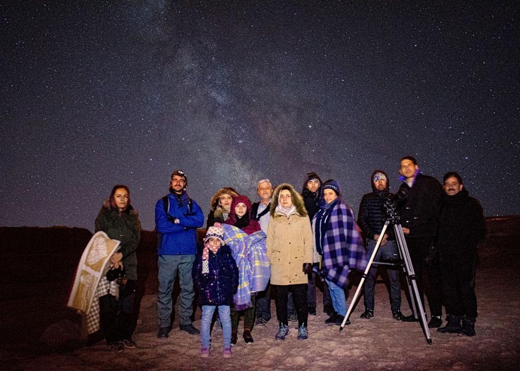 رصد خانوادگی آسمان
